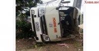 Bình Phước: Hai xe khách đâm nhau khiến nhiều nguời hoảng loạn