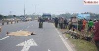 Quảng Nam: Người đàn ông tử vong tại chỗ do xe tải húc xe máy